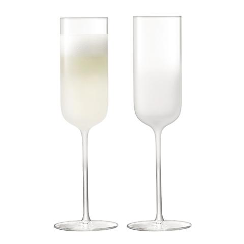 Набор из 2 бокалов-флейт для шампанского Mist, 225 мл