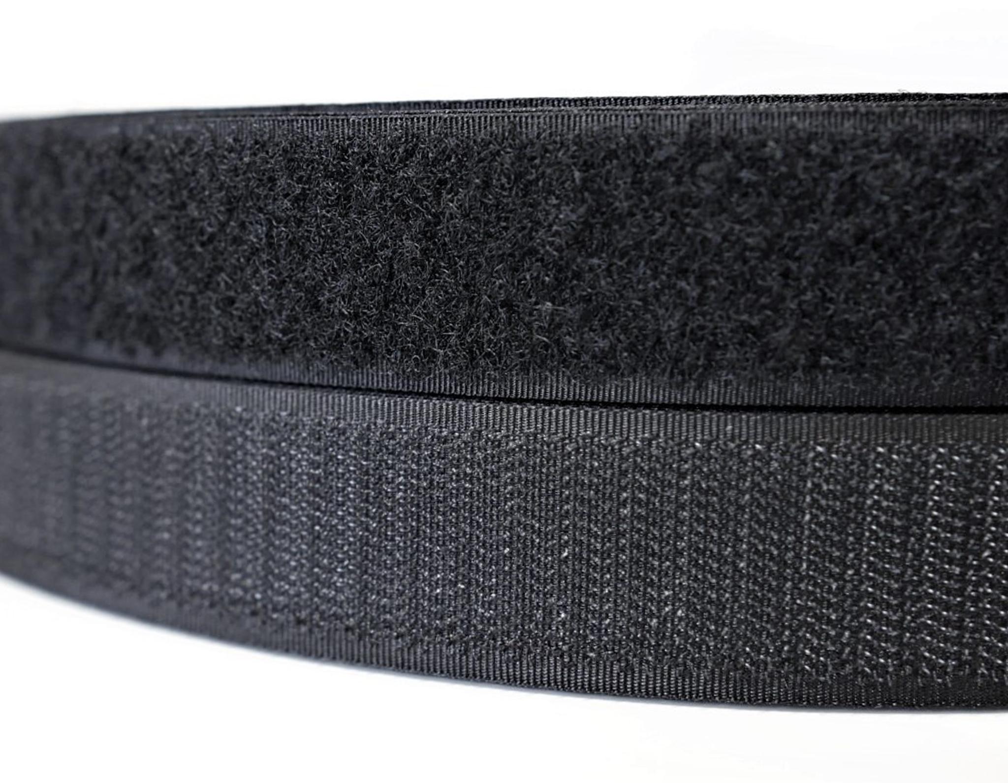 Контактная лента,20 мм,черный(липучка)