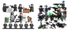 Минифигурки Военных SWAT серия 415