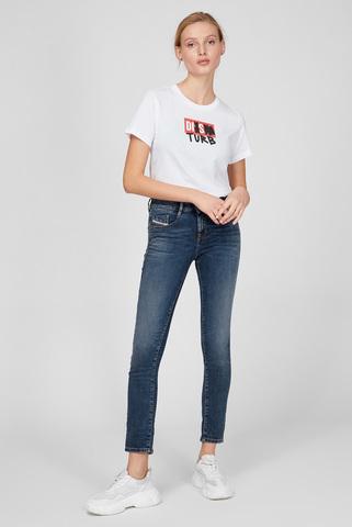 Женские синие джинсы D-OLLIES-NE Diesel