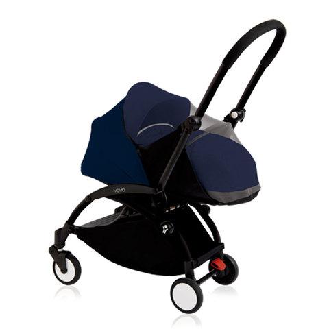 Коляска для новорожденных BabyZen YoYo 0+ (темно-синяя) напрокат