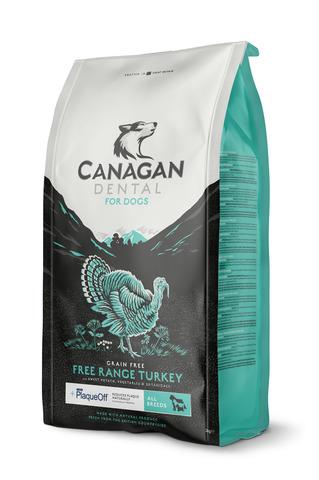 Сухой корм Canagan Grain Free Dental для собак всех пород для ухода за полостью рта