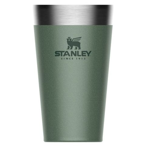 Термостакан Stanley Adventure Stacking Vacuum Pint (10-02282-057) 0.47л зеленый