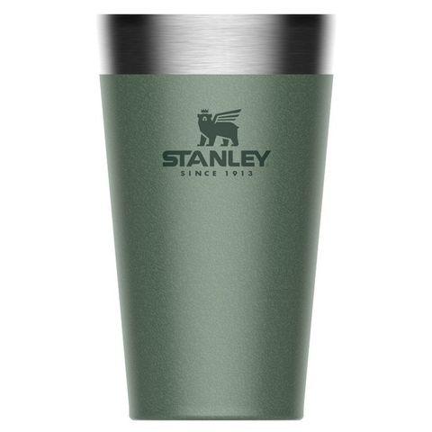 Термостакан Stanley Adventure Stacking Vacuum Pint (10-02282-057) 0.47л зеленый