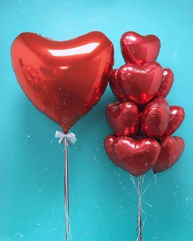 Сет воздушных шаров 14 февраля