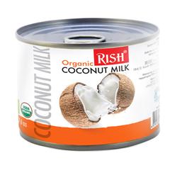 Rish, Органическое кокосовое молоко 68%, жирность 17-19%), 225мл