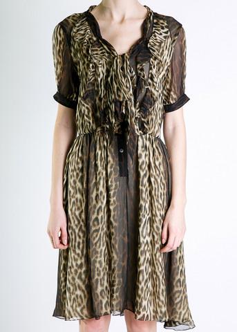 Платье из шелка JASON WU