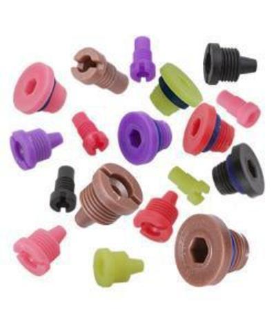 Набор инжекторов Runxin (белый, зеленый, салатовый, розовый, фиолетовый, коричневый, красный, синий, черный)