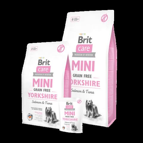 Brit Care GF Mini Yorkshire Сухой корм для собак породы йоркширский терьер беззерновой