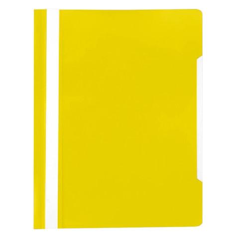 Папка скорос-тель A4 Attache 150/180Элементари, желтый