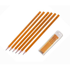 Набор чернографитных карандашей Koh-I-Noor 1696 заточенные (HB, H, B, 2H, 2B)