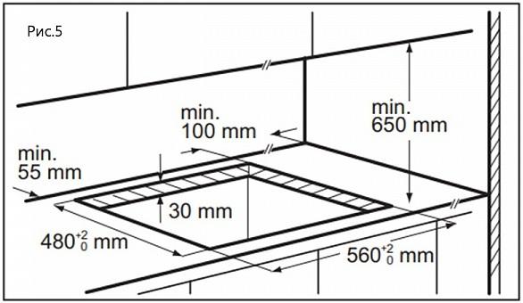 Газовая варочная панель Maunfeld EGHG.64.63CB/G