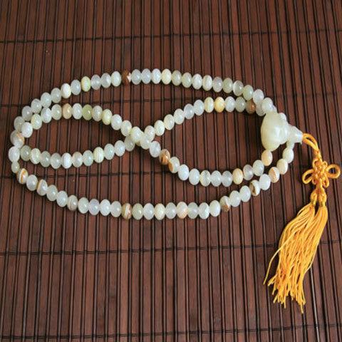 Чётки буддистские из оникса