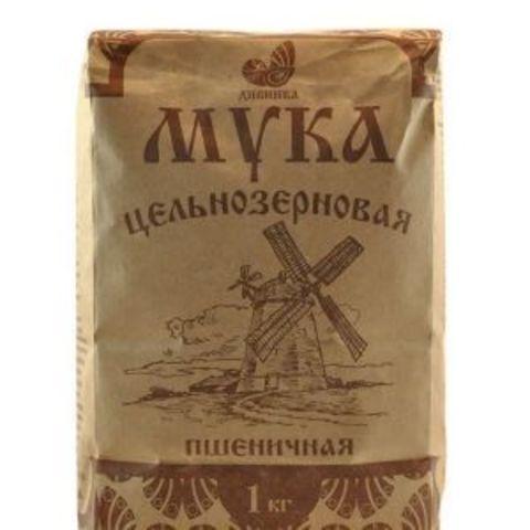 Мука пшеничная, Дивинка, цельнозерновая, обойная, 1 кг