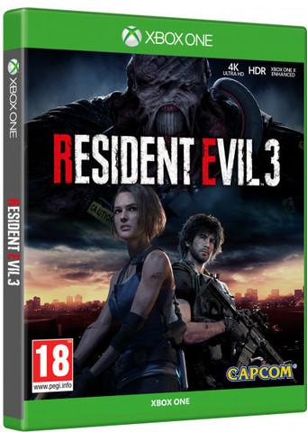 Resident Evil 3 (Xbox One/Series X, русские субтитры)