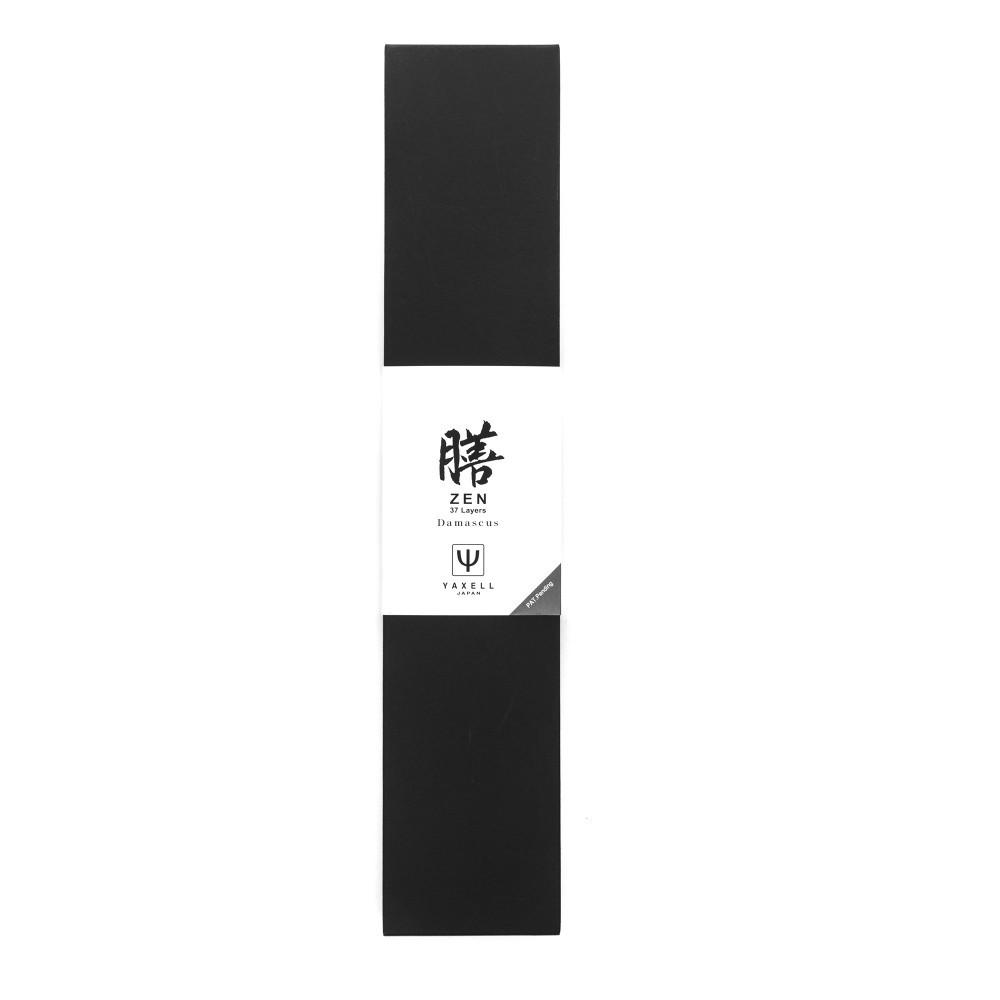 Нож кухонный для хлеба 23 см, «Pankiri», дамасская сталь, серия Zen, YA35508, YAXELL, Япония - фотография