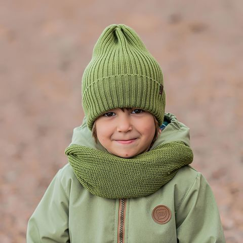 Knitted snood - Bamboo