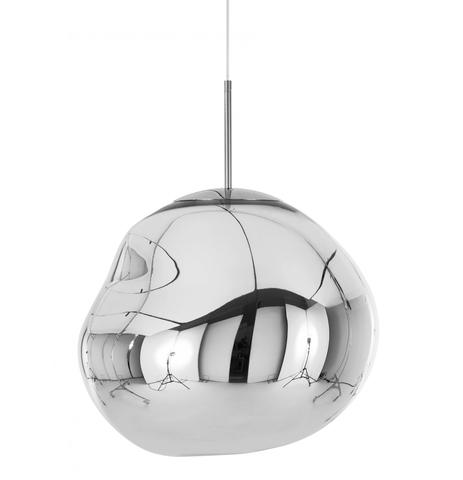 Подвесной светильник копия MELT by Tom Dixon (серебряный)