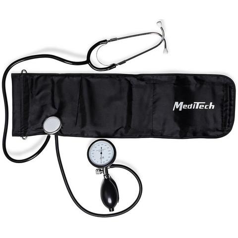 Тонометр MediTech МТ-20 механический (встроенный стетоскоп, манжета 25-40 см)