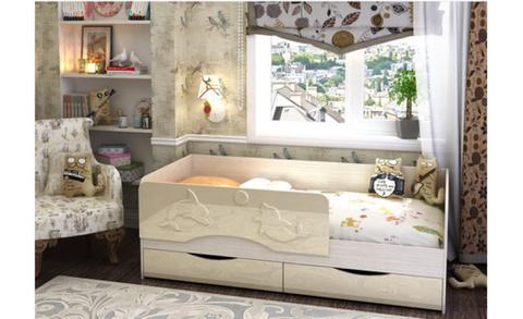Детская кровать с ящиками Дельфин (Алиса) КР 813 1800х800