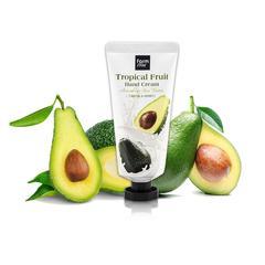 Əl kremi \ Крем для рук \ Hand Cream Tropical Fruit  50ml Avocado