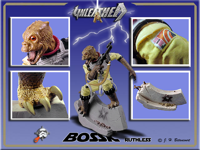 Star Wars Unleashed Bossk Bounty Hunter