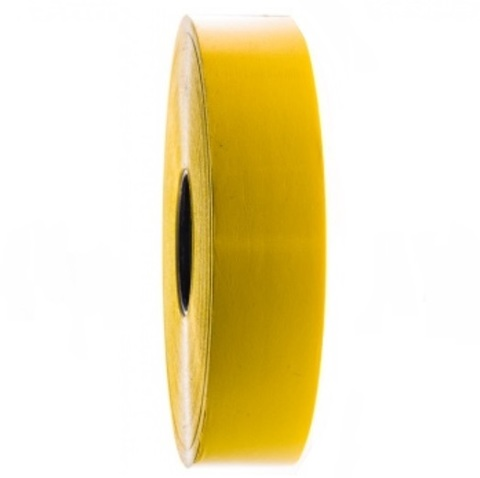 Лента полипропиленовая (размер: 30 мм х 100 м), цвет: желтый