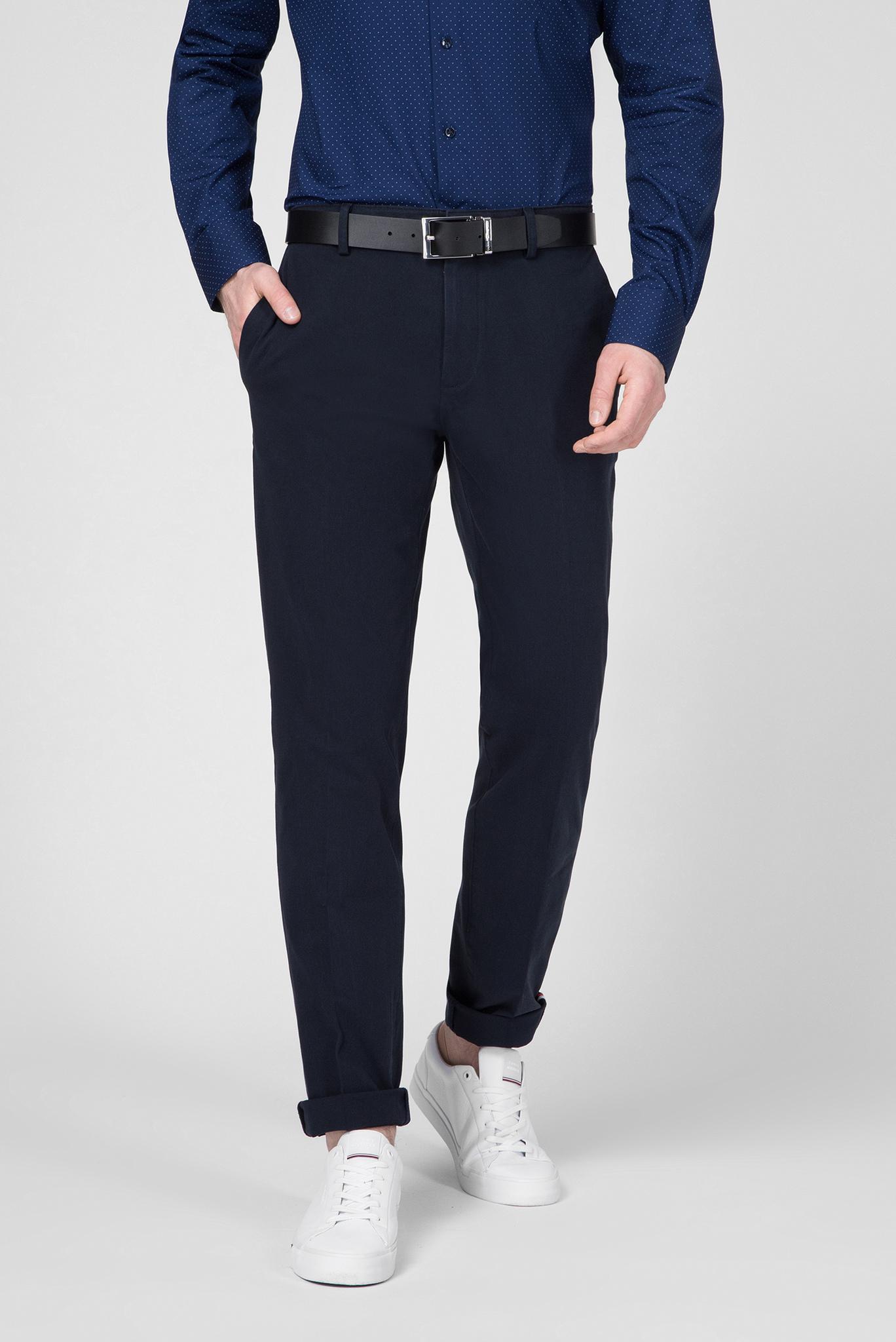 Мужские темно-синие брюки COOL CHINO Tommy Hilfiger