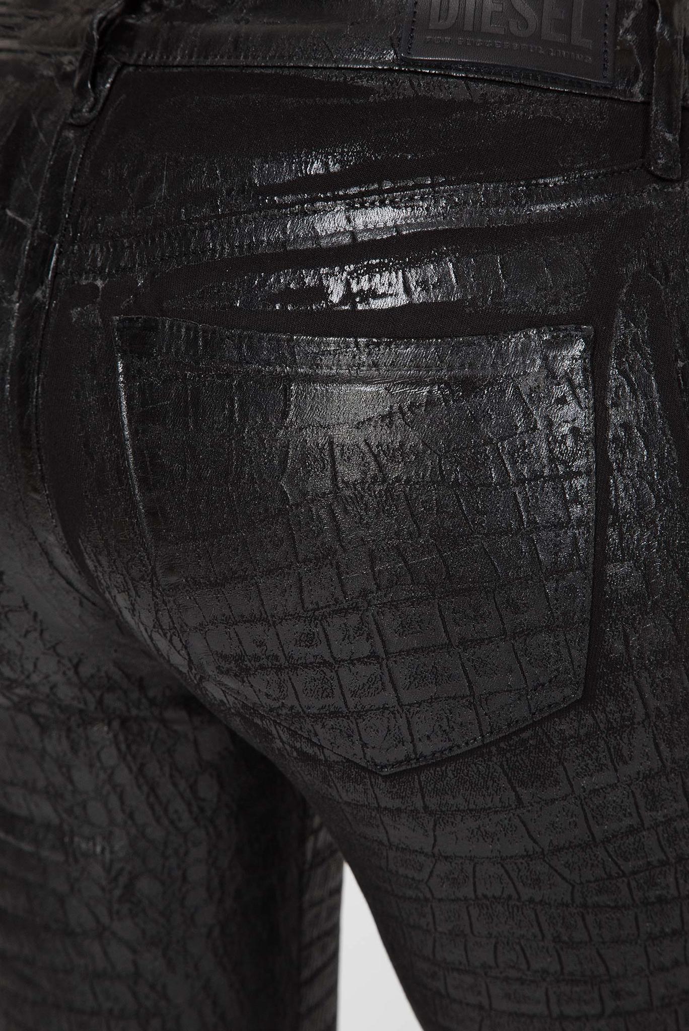 Женские черные джинсы SLANDY-SP4 L.32 Diesel
