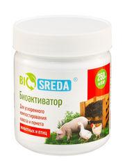 """Биоактиватор """"Biosreda"""" для ускоренного компостирования навоза и помета животных и птиц 250гр на 10 м3."""