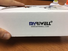 3D ручка Myriwell RP100B + 170 м пластика + трафареты