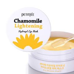 Petitfee Патчи осветляющие с экстрактом ромашки - Chamomile lightening hydrogel eye mask, 60шт