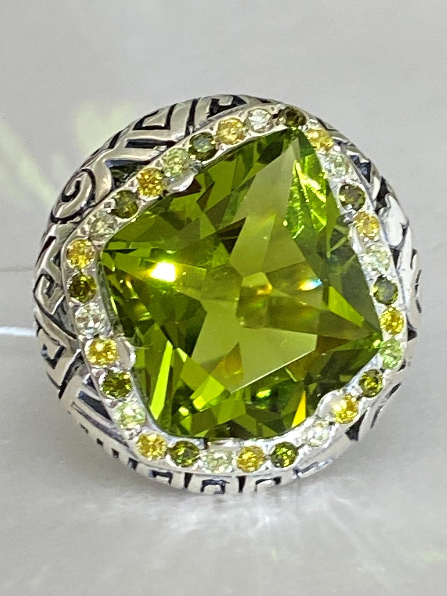 Колорадо (кольцо из серебра)