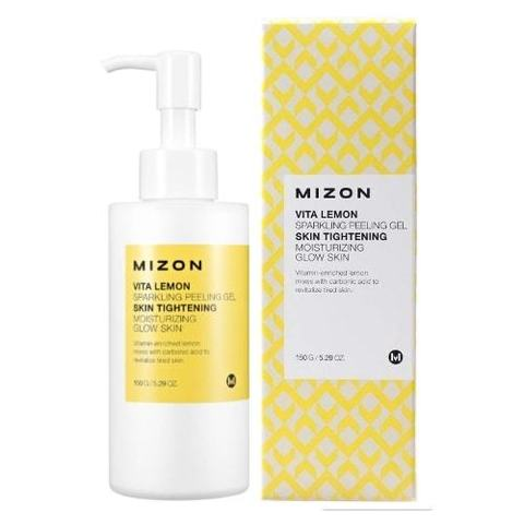 Mizon Vita Lemon Sparkling Peeling Gel витаминный пилинг-скатка