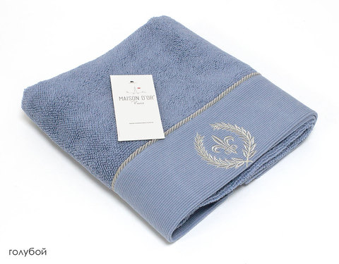 SEYMOUR - СЕЙМУР голубой полотенце махровое Maison Dor(Турция) .
