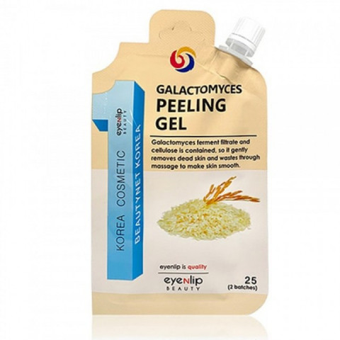 Пилинг-гель для лица EYENLIP POCKET GALACTOMYCES PEELING GEL 25 гр