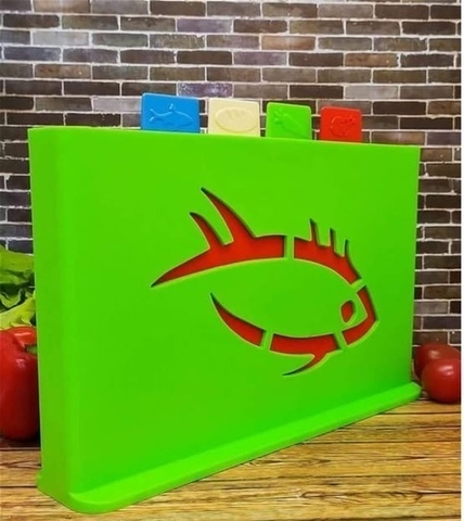 Набор разделочных досок Libra Plast, 32х19 см, 5 шт
