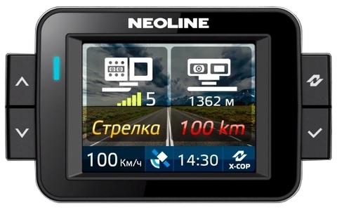 Комбо-устройство (видеорегистратор с радар-детектором и GPS) Neoline X-COP 9000