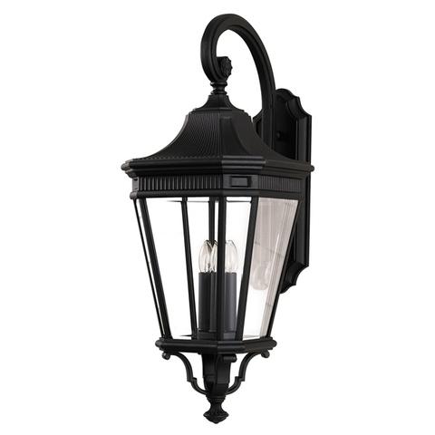 Настенный фонарь Feiss, Арт. FE/COTSLN2/L BK