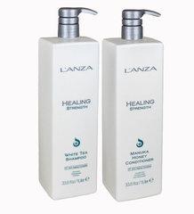 Lanza Healing Strength шампунь + кондиционер для укрепления волос 1000 мл
