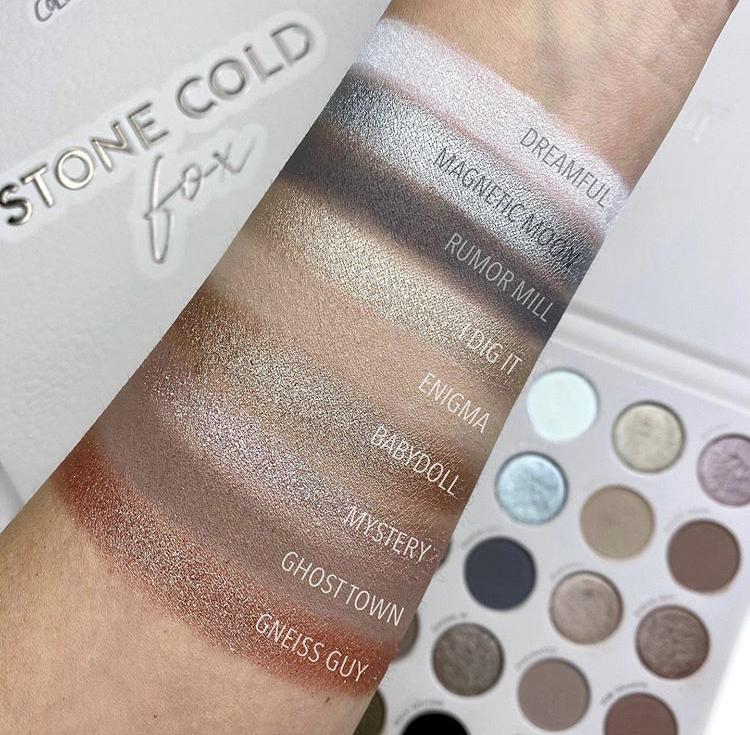ColourPop Stone Cold Fox palette