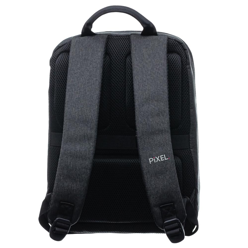 Рюкзак с LED-дисплеем PIXEL PLUS - GRAFIT (серый)