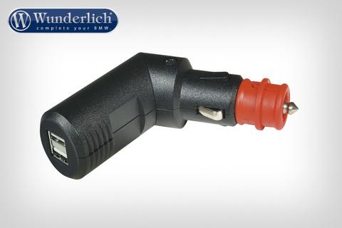 Складной двойной USB-адаптер в прикуриватель