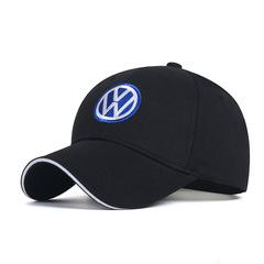 Модная бейсболка с вышивкой Volkswagen (Кепка Фольксваген) черная