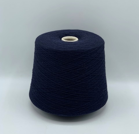 Бобинная пряжа (пр.Италия)art-cashmere,1400м/100гр,100%кашемир,цвет-Синий.арт-8549