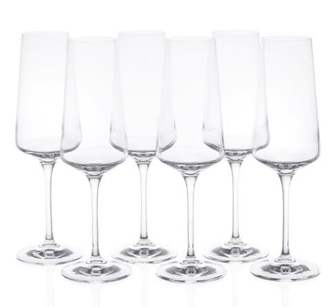 Набор фужеров для шампанского RCR Calice Aria Flute 350мл (6 шт)