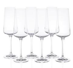 Набор фужеров для шампанского RCR Calice Aria Flute 350мл (6 шт), фото 1