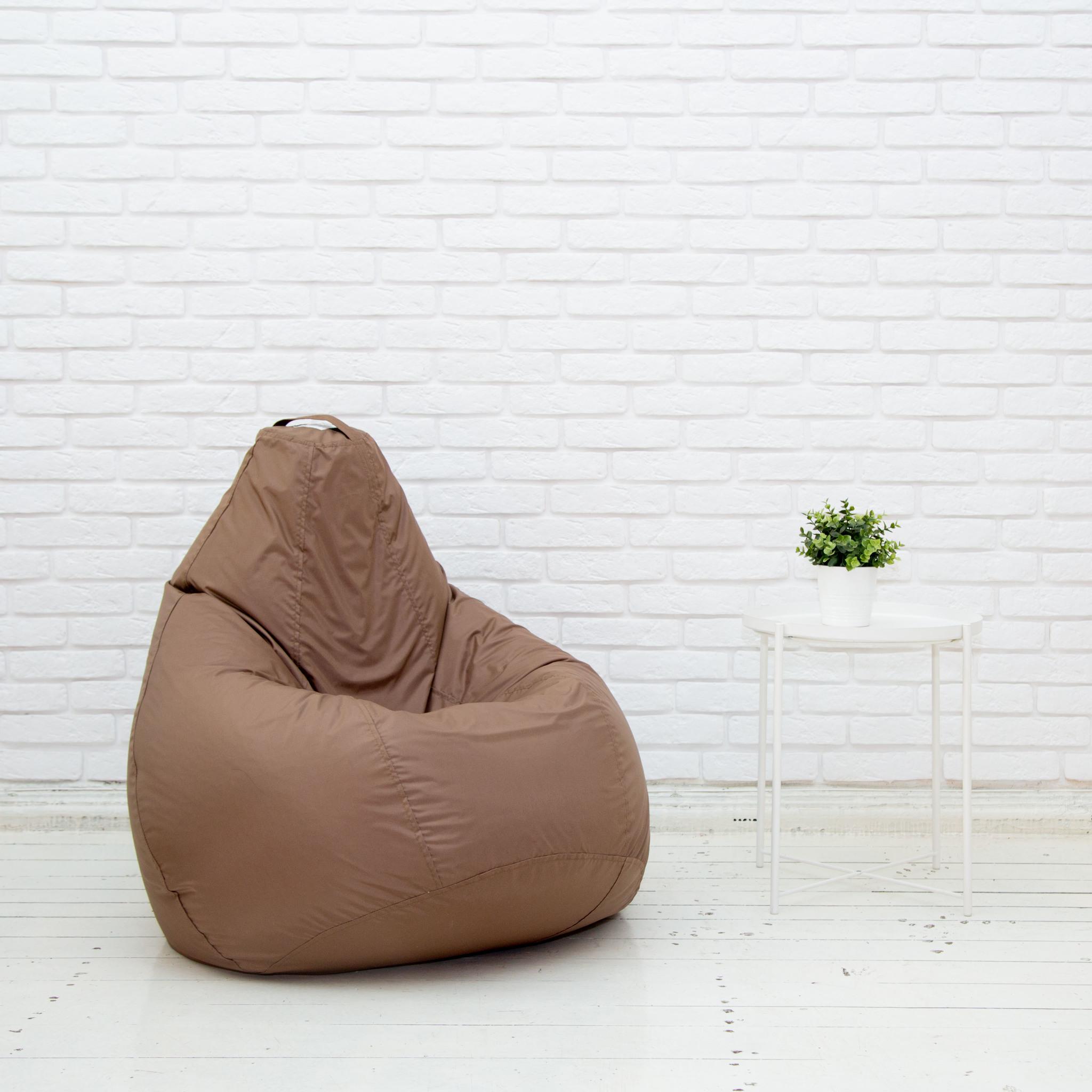 Груша М плащёвка, несъёмный чехол (коричневый)
