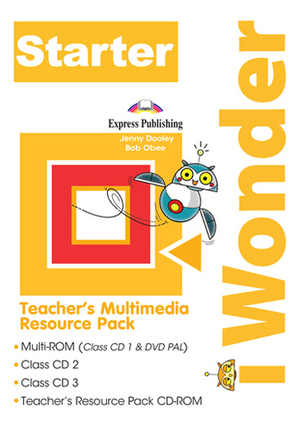 i WONDER Starter(PAL) teacher's Multimedia Resource Pack (SET OF 4) (INTERNATIONAL)