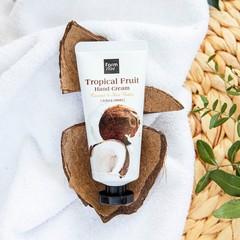 Əl kremi \ Крем для рук \ Hand Cream Tropical Fruit  50ml Coconut